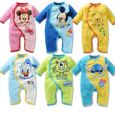 Baby Boys Girls Animal Bodysuit Outfit Costume Romper Clothes Set 0-18M ET023