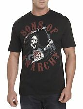 Sons of Anarchy: Reaper Charge Screen Tee Casual Male XL Big & Tall