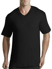 Harbor Bay 3-pk. V-Neck T-Shirts Casual Male XL Big & Tall