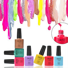 Elite99 Shellac Soak-off UV LED Gel Nail Polish Stylish Colours Top Base Coat