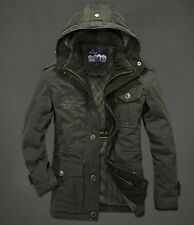 AFS JEEP Men's Jacket Coat Autumn Winter Cotton