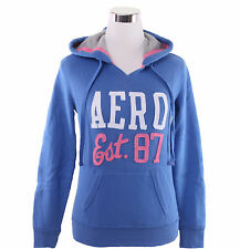 Aeropostale Women AERO 87 Athletic Popover Hoodie Sweater 3158- Free $0 Shipping