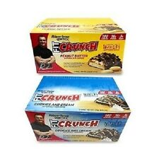FortiFX FIT CRUNCH BARS by Chef Robert Irvine Whey Protein BOX OF 6 BAKED BARS