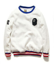 New The west coast MONSTER LOGO Bape joint stussy baseball long Sleeve T-shirt