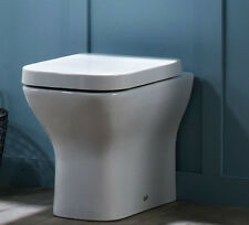 Tavistock Structure Square Bathroom Back To Wall Toilet Pan WC BTW Short WC