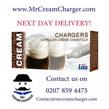 THE CHEAPEST LISS Cream Chargers NOS N2O Nitrous Oxide Multiple Listing CHEAP!