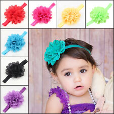Adorable Baby Girls Toddlers Infant Big Flower Headband Hair Band Accessories
