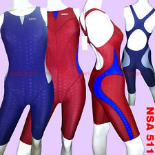 NWT NSA 511 COMPETITION TRAINING RACING SHARKSKIN KNEESKIN ALL SIZE <FREE SHIP>!