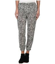 Volcom Stone Maybe Never Pants Womens White Black Relaxed Rayon New NWT