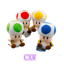 "New Super Mario Toad 7"" Plush toys baby toys Plush Doll kid's"