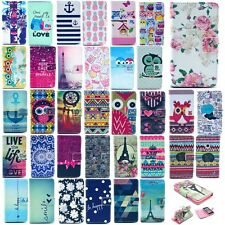 PU Leather Magnetic Wallet Flip Card Shell Cover Protector Housing For Nokia