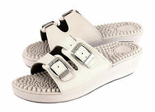 Women's Nurse Kitchen Chef Hospital Massage Mules Slip On Shoes Sandals Wedge