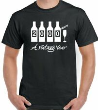Bottles 1999 - Mens Funny  Novelty 18th Birthday T-Shirt - Gift Present Idea