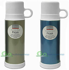 500ml 0.5 Litre Flask Stainless Steel Vacuum Travel Thermos Drinks Food Soup Cup