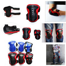 Adults Cycling Skate Safety Protective Guard Outdoor Sports Elbow Knee Wrist Pad