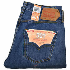 New Levi's 501 Men Straight Leg Classic Original Jeans(Levis 501 multiple sizes)
