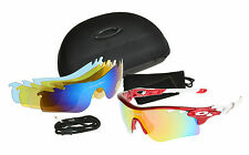 1 Set Suit Sun Colorful Glasses Cycling Riding Bicycle Sports Protective Goggle