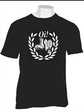 SKINHEAD T SHIRT OI PUNK NEW WAVE SKINS 4SKINS REJECTS SCOOTERS SHAM BOVVER BOYS