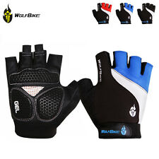 New Breathable Half Finger Gloves Cycling Bike Bicycle Sports GEL Pad M-XL