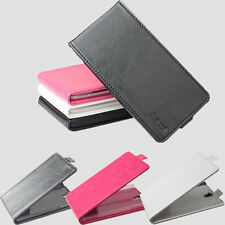 """New For 5"""" OPPO X909 Smartphone PU Leather Flip Protective Skin Cover Case"""