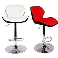 Adjusts height Swivel Hydraulic Backrest Chair Counter Bar Kitchen Office Stool