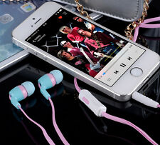 3.5mm In-Ear Earbud Headphone Earphone With Microphone for MP3 MP4 Phone 5 Color