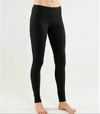 Lululemon Wunder Under Pant Size 4/6/8/10/12 Black Luon Pants by fit Yoga ##