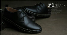 New European Style Genuine Leather Shoes Men's Oxfords Casual Dress Shoes
