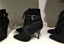 ZARA LACE-UP HIGH HEELED BOOTIE 36-41 Ref. 3156/001