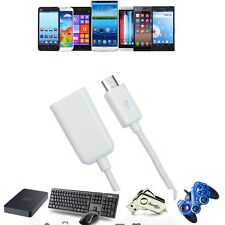 USB Host OTG Adaptor Adapter Cable Cord For Samsung Galaxy Note II 2 SGH-i317