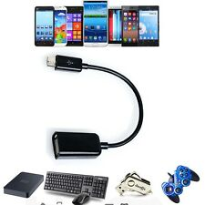 USB Host OTG Adaptor Adapter Cable Cord For Samsung Galaxy Note II 2 SCH-i605