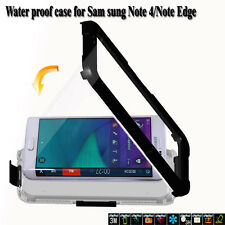 Silicone Waterproof Cover Case Underwater Case Cover for Samsung Note4 Note Edge