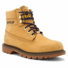 "CAT Footwear Caterpillar Women's WATERSHED WP 6"" Honey Leather Boots P307069"