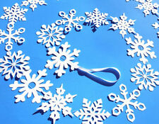 Snowflake Frozen Winter Wonderland Onederland Party Sewn Garland - Elsa - Anna