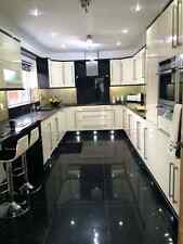 HIGH GLOSS CREAM KITCHEN UNIT DOORS