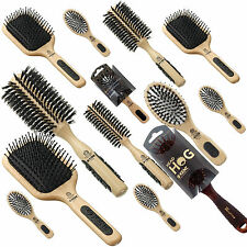 KENT HAIRBRUSHES for Smoothing Curling Straightening Bristle Radial Hair Brushes