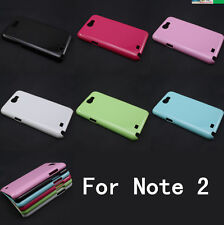 Hot DIY Deco Candy Color Hard Plastic Case Cover For Samsung Galaxy Note 2 N7100