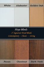 "2"" Signature Real Wood Window Blinds -  Factory Direct Custom - Made Sizes"