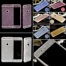 Luxury For iPhone 4 4S 5 5S 6 6 Plus Bling Full Body Film Guard Screen Protector