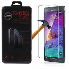 New Premium Tempered Glass Film Screen Protector for Samsung Galaxy S3 S4 Note 4