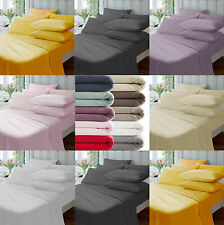 Thermal Flannelette 100% Brushed Cotton Fitted,Flat Sheet or Duvet Cover Bed Set
