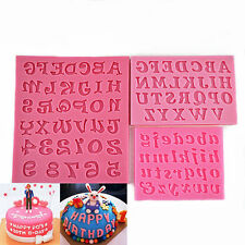 Alphabet Letter Number Cake Chocolate Cookie Jelly Silicone Mold DIY Baking Tool