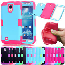 Shockproof Combo Rubberized Coating Matte Case Cover For Samsung Galaxy S4 S5 S6