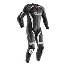 RST TRACTECH EVO 2 LEATHERS ONE PIECE MOTORCYCLE RACE SUIT WHITE 2017