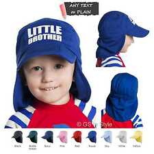 Kids Result Folding Legionnaire Hat Cap Personalised or Plain Polyester One Size