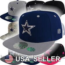 Dallas Cowboys Cap Logo Hat NFL Football Snap Back Embroidered On Field Sideline