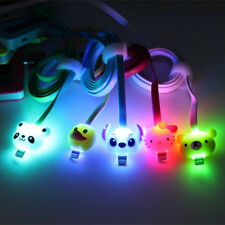 Cartoon Light Data Charge Cell Phone USB Cable for iPhone 5/5s/5c/6/plus