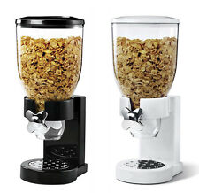 PASTA CEREAL DISPENSER DRY FOOD STORAGE CONTAINER DISPENSE MACHINE GIFT 2COLOURS
