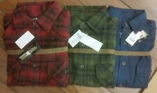 Flannel Shirt 'Work'NGear' Mens Long Sleeve Very Heavy Fabric ,Like A Jacket