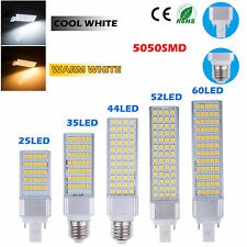 E27 G24 5W 7W 9W 11W 13W 5050 SMD LED Spot Light Bulbs Corn Lamp Lámparas  White